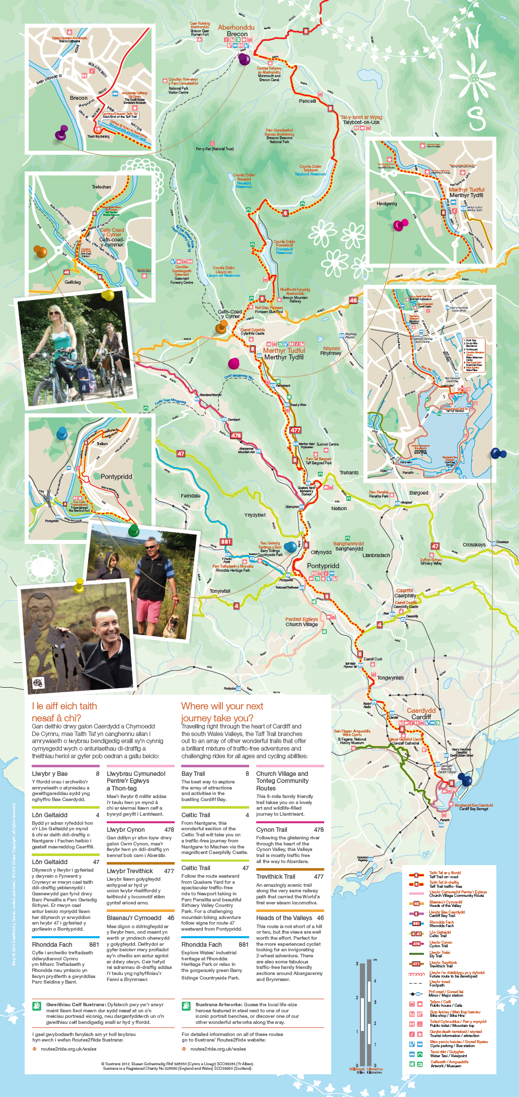 Taff-Trail-Map