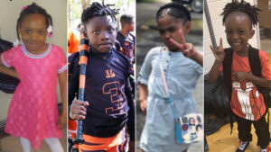 Six children killed on one weekend
